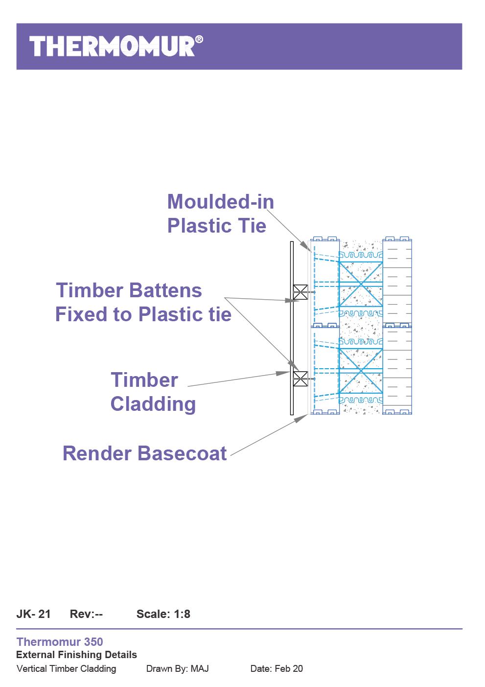 Jk-21 Timber Cladding