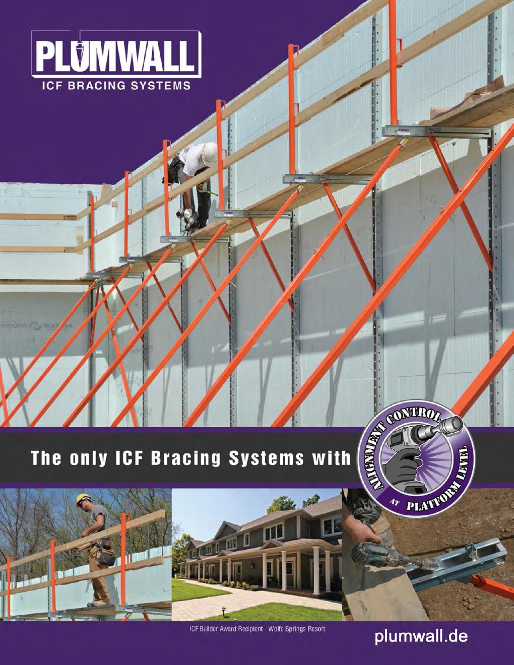 Plumbwall ICF Bracing Systems