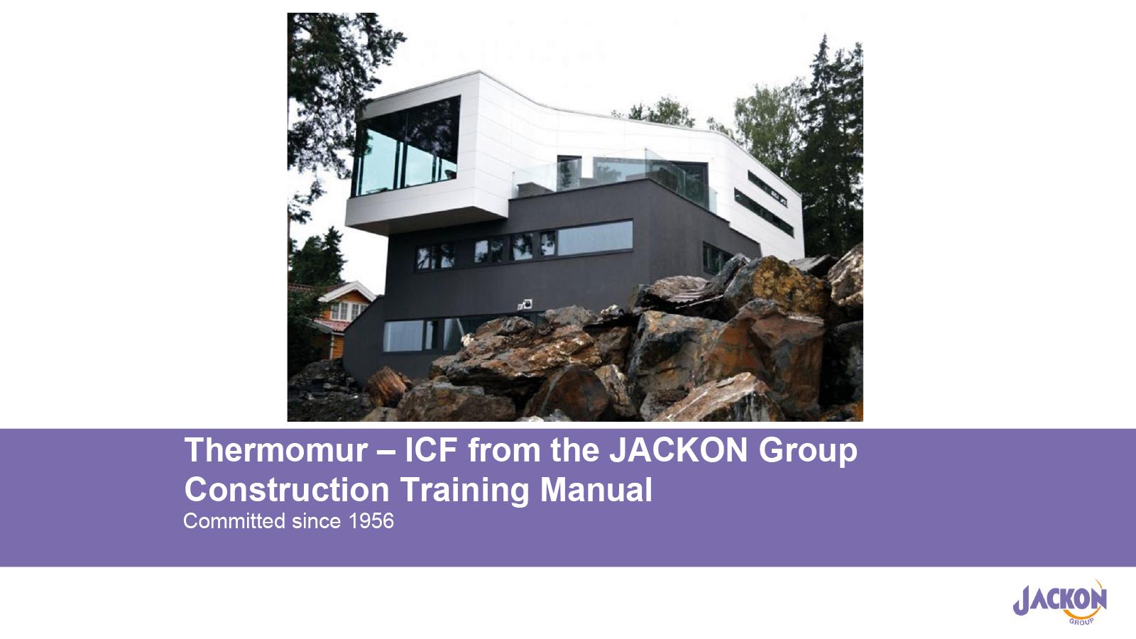 Thermomur Training Manual